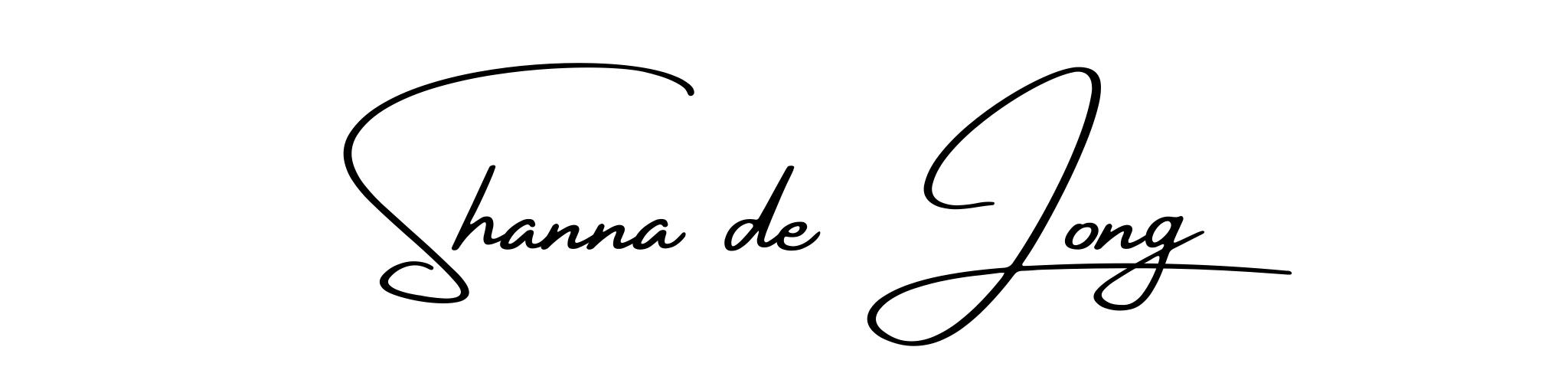 Shanna de Jong
